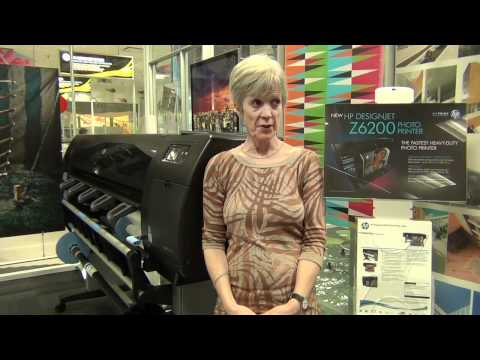 Talk Print! Sophie with the HP Designjet Z6200