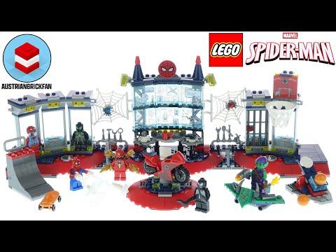 Vidéo LEGO Marvel 76175 : L'attaque contre le repaire de Spider