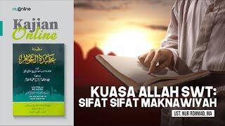 Ngaji Aqidatul Awam: Sifat Kuasa Allah