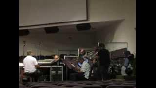 Azamar band rehearsal - I am Healed (Donald Lawrence)