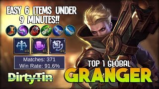Z4PNU PLAY AS GRANGER FOR THE 1ST TIME RANKED GAME - 500