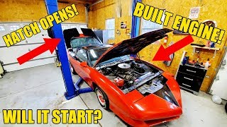 My $1,100 Mystery Auction Car Has A CRAZY History! Famous Builder & Built Engine But, Will It Start?
