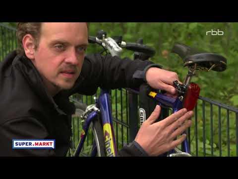 Test - GPS-Ortungssysteme gegen Fahrraddiebstahl | rbb Fernsehen 2017