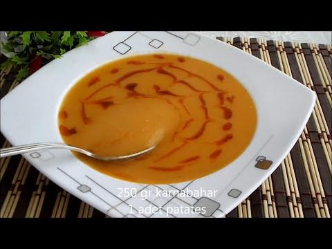 Karnabahar çorbası tarifi - Kokusuz karnabahar çorbası nasıl yapılır | Çorba tarifleri