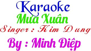 [Karaoke] Mưa Xuân - Tân Nhàn