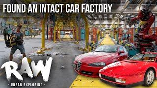 URBEX | Found an intact car factory