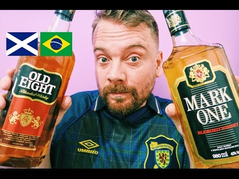SCOTTISH TRYING BRAZILIAN WHISKY