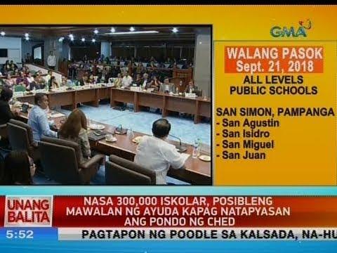 [GMA]  UB: Nasa 300,000 iskolar, posibleng mawalan ng ayuda kapag natapyasan ang pondo ng CHED
