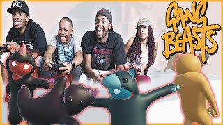THE HUNTERS VS THE HUNTED! - Gang Beasts Gameplay