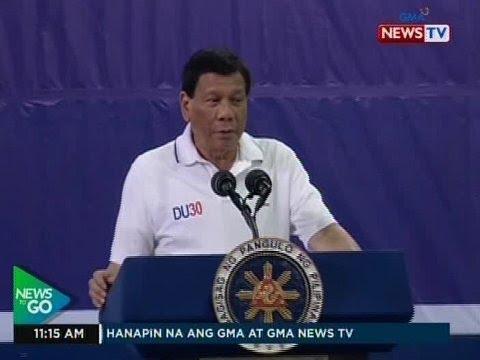 [GMA]  NTG: Pres. Duterte, nanindigang hindi niya pinapaaresto ang mga tambay kung walang paglabag sa batas