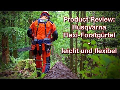 Product Review: Husqvarna Flexi Werkzeuggürtel - leicht und innovativ!