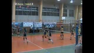 preview picture of video 'Zorza Wodzisław - Sokół Katowice tie-break'