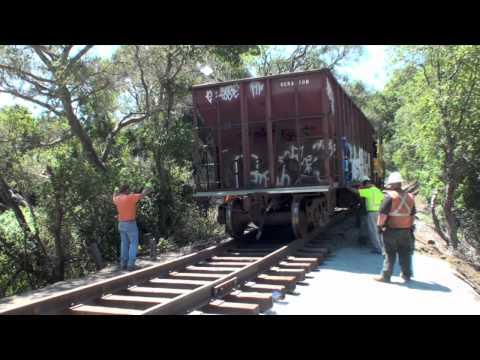 Santa Cruz Branch Line Washout Repair -- Last Day