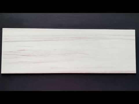 Płytka ścienna ARTISTIC WAY biała błyszcząca 25x75 gat. II