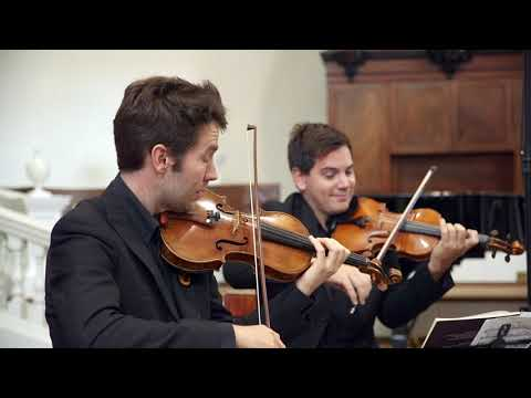 The Piatti String Quartet Play Beethoven, Webern and Bridge