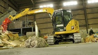 Cat® 308 CR Mini Excavator Customer Story – Clean Network (Japan)