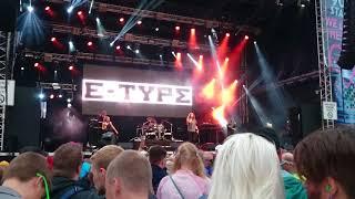 E-Type Free Like A Flying Demon LIVE @ WE LOVE THE 90's Helsinki 25.8.2017