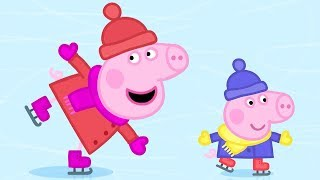 Peppa Pig Official Channel   Ice Skating with Peppa Pig!