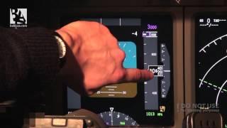 Boeing 737 NG cockpit demonstration