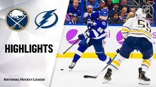 NHL Highlights | Sabres @ Lightning 11/25/19