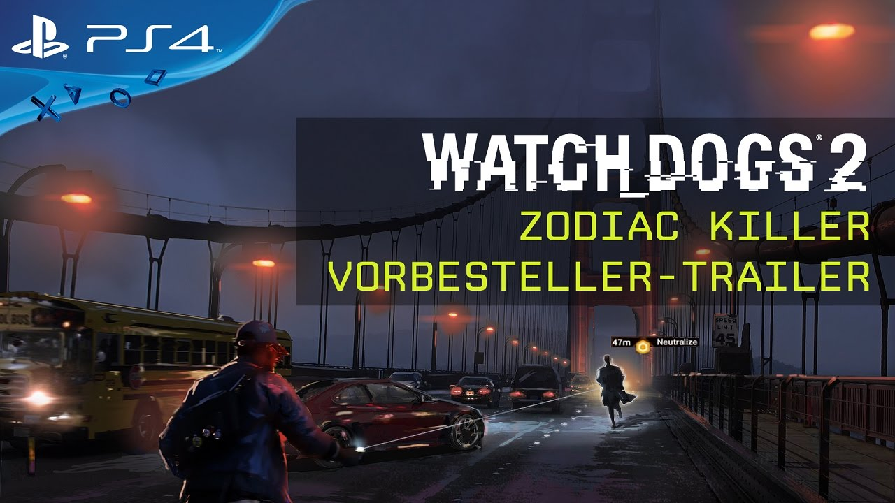 Watch Dogs 2 – Zodiac Killer (Vorbesteller DLC)