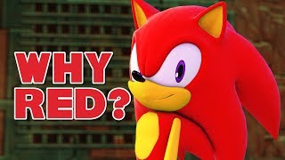 Why Is Sonic Red? Let's Talk! | Sasso Studios