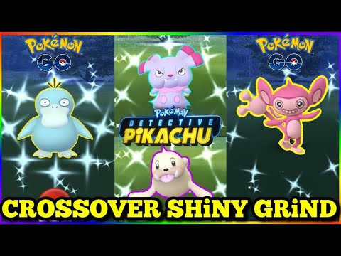 🎟 LiVE 🎫 Shiny Mystery Grind ✨ Detective Pikachu & Pokemon Go Crossover Event🔍 | Exploring NYC