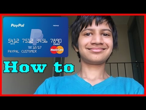 How To Get Paypal Prepaid MasterCard And How To Activate It For Free (US only)