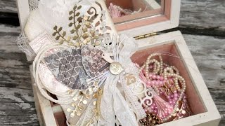 How To Make A *Frilly & Shabby Chic Christmas Tag* - DIY Crafts Tutorial - Guidecentral