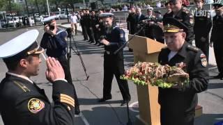 VL ru Встреча отряда кораблей ТОФ участвовавших в учениях