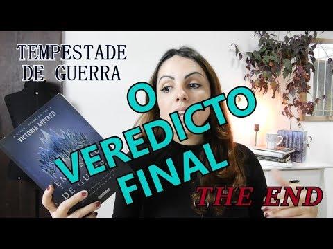 TEMPESTADE DE GUERRA -  QUARTO LIVRO DA SÉRIE A RAINHA VERMELHA COM SPOILERS - AVISADOS ANTES!