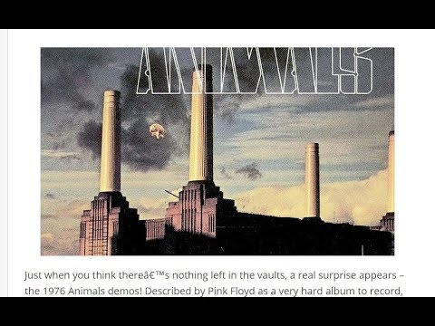 """Pink Floyd -  """" Pigs on the wing / Dogs """" Rare Studio Outtakes 1976  (: ANIMALS :)"""