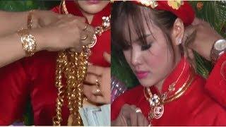 Khi biết mẹ vợ trao 50 cây vàng cho vợ là giả, chú rể liền tới và làm điều này..