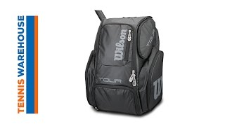 Wilson Tour V Large Tennis Backpack L video