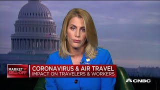 How The Coronavirus Affects Air Travel: Association Of Flight Attendants President