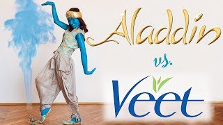 Aladdin vs. Veet Sensitive Precision Trimmer : 0 - 1