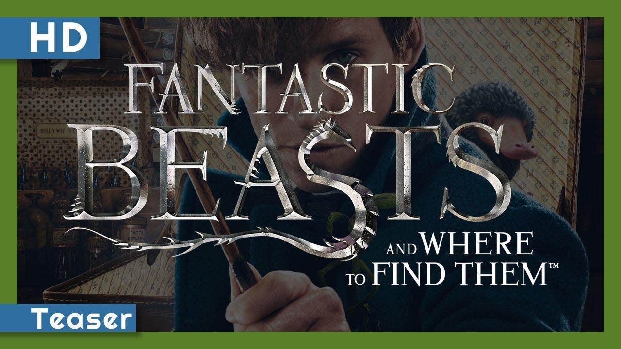 Trailer för Fantastiska vidunder och var man hittar dem