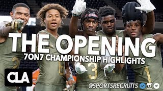 OKLAHOMA QB COMMIT SPENCER RATTLER LEADS TEAM: 🏆 The Opening 7on7 Championship Mixtape