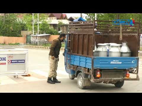 Restrictions continue in Kashmir to prevent Covid-19 spread