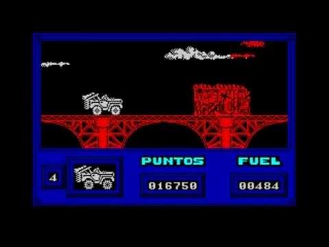 Warajevo (Sinclair ZX-Spectrum emulator for DOS) in DOSBOX v0,74