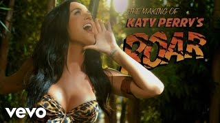"Katy Perry   Making Of The ""Roar"" Music Video"