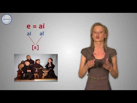Дружба французских гласных. Буквосочетания AI и AU