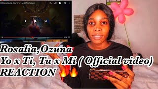 ROSALIA, Ozuna   Yo X Ti , Tu X Mi (Official Video) Reaction