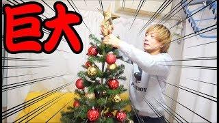 IKEAの巨大クリスマスツリーを飾ります!!