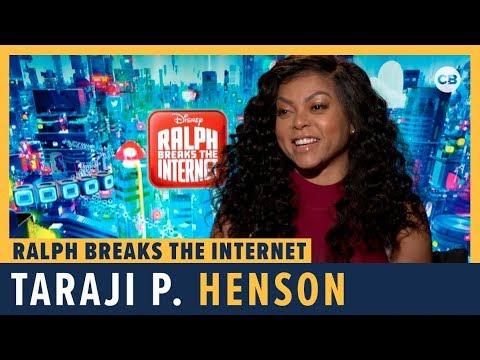 Taraji P. Henson Talks 'Ralph Breaks the Internet'