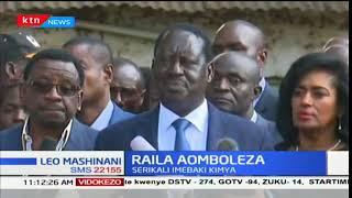 Kinara wa NASA Raila Odinga aomboleza na familia ya wafuasi waliouawa: Leo Mashinani