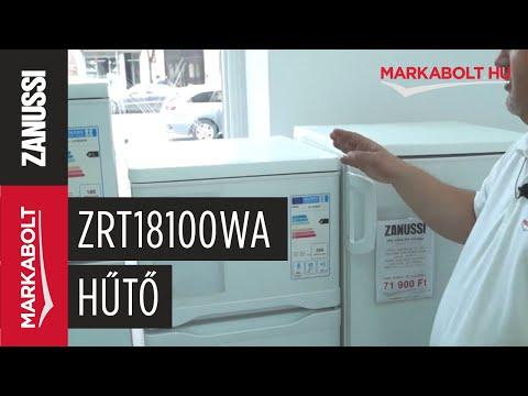 Zanussi ZRT18100WA hűtőgép - Márkabolt.hu
