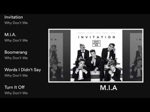 Why Don't We -Invitation (Full EP)