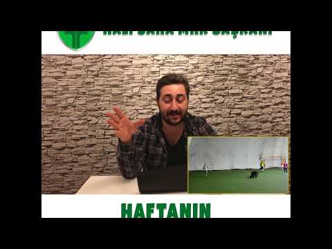 Halı Sahaların MHK Başkanı Arif Sevimli ile Haftanın En Kıvrak Hakemi!