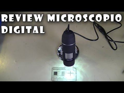 Review Microscopio digital 500x USB - Química, Soldadura SMD...